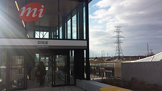 Dixie station (MiWay) Mississauga Transitway Station