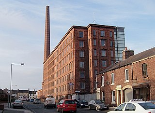 Dixons Chimney and Shaddon Mill was the largest cotton mill in England and had the 8th largest chimney in the world