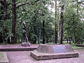 Djevojka sa Une, spomenik palima u Bihackoj operaciji.JPG