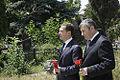 Dmitry Medvedev in South Ossetia 13 July 2009-7.jpg