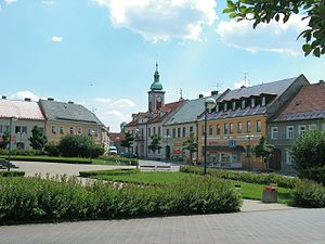 Doksy - Town square