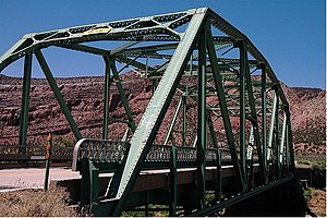 Dolores River Bridge - Image: Dolores River Bridge