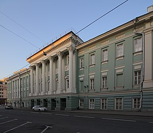 Seventh World Congress of the Comintern - The House of Unions in Moscow, site of the 7th World Congress of the Comintern, as it appears today.