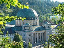 Der Dom in St. Blasien wurde unter Abt Martin II. erbaut (Quelle: Wikimedia)