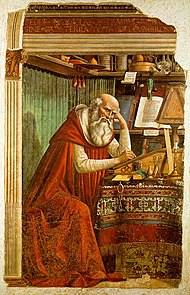 Domenico Ghirlandaio - St Jerome in his study.jpg