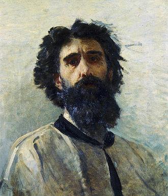 Domenico Morelli - Self-portrait