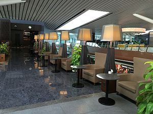 Kempegowda International Airport - Plaza Premium Lounge, domestic side