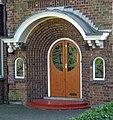 Doorway - 6 Vicarage Gardens, Scunthorpe - geograph.org.uk - 587544.jpg
