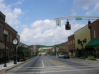 London, Kentucky - Downtown London