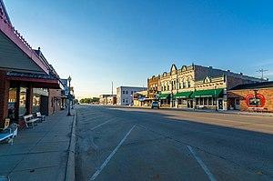 Wilber, Nebraska - Image: Downtown Wilber, NE
