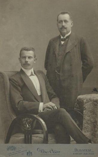 Dr. Just Sándor és Hanaman Ferenc