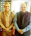 Dr Lakshmi Narayan Singh and Dr Karan Singh.JPG