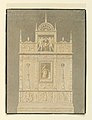 Drawing, Renaissance Monument in Benedictine Church, Fecamp, Normandy, 1798 (CH 18539809).jpg