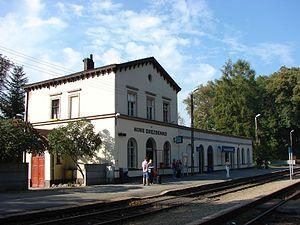 Drezdenko - Image: Drezdenko, railway station