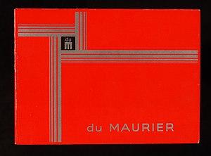 Du Maurier (cigarette) - Image: Du Maurier cigarettes pack, pic 2