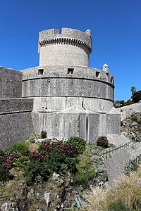 Dubrovnik, torre minceta 01.JPG
