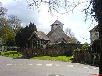 Dummer, Hampshire - Image: Dummer church