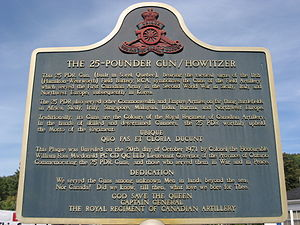 Ubique (poem) - Plaque unveiled October 20, 1971 in King Street (Dundas, Hamilton, Ontario)