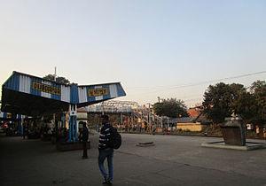 Durgapur railway station - Durgapur railway station platform