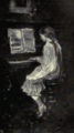 Dutch Painting in the 19th Century - Jacob Maris - A little Girl at the Piano.png