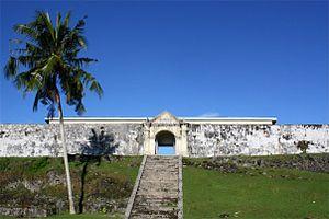 Saparua - Image: Duurstede Fort, Saparua, Ambon Indonesia