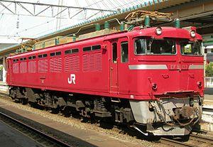 JNR Class EF81 - JR East EF81 137 in August 2010