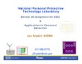 ESLI www.cdc.gov niosh docs 2009-133 pdfs DREAM2008-GasVapor-Snyder-NIOSH.pdf