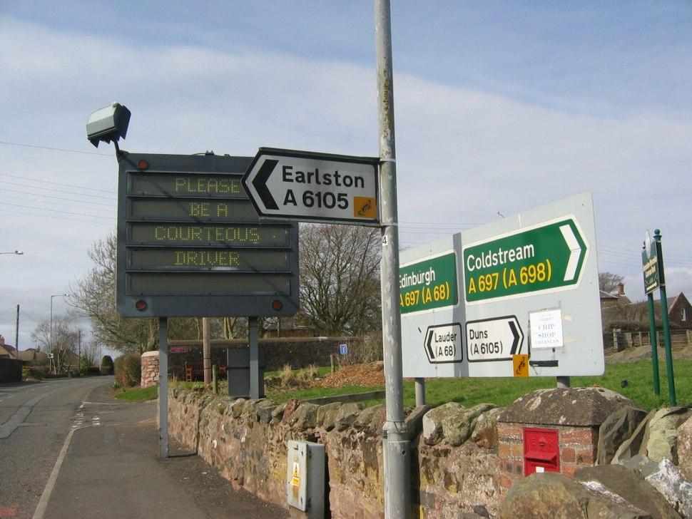 Earlston Coldstream