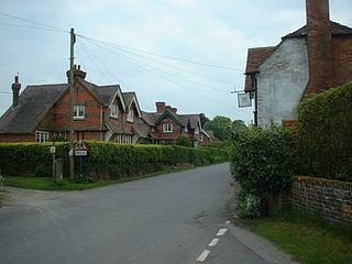 East Woodhay village in the United Kingdom
