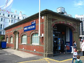 Eastbourne Lifeboat Station - The William Terriss Memorial Boathouse in Eastbourne, now the Eastbourne RNLI Museum