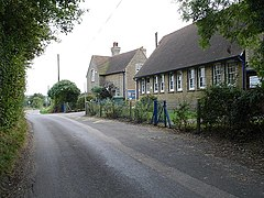 Eastling County Primary school. Standing on Kettle Hill Road on the southeastern edge of the village.