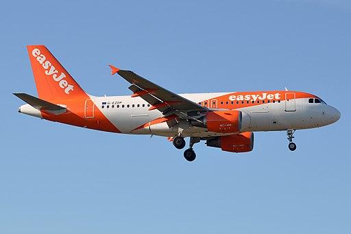 EasyJet, G-EZDP, Airbus A319-111 (20817392802)