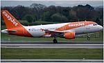 EasyJet Airbus A319-111 (G-EZFU) at Manchester Airport.jpg