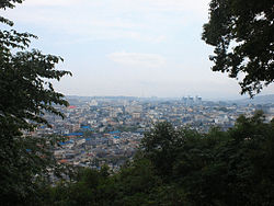 View of Center in Kawachinagano, from Eboshigata Park