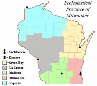 Roman Catholic Archdiocese of Milwaukee - Ecclesiastical Province of Milwaukee