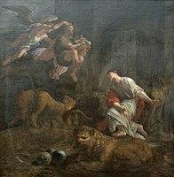 Ecole italienne 17e Daniel dans la fosse aux lions.jpg