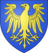Ecu d'azur à l'aigle d'or.svg