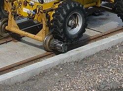 Edinburgh tram track work (geograph 3577878).jpg