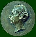 Effigie bronze de Francois Pouqueville par David d'Angers.jpg