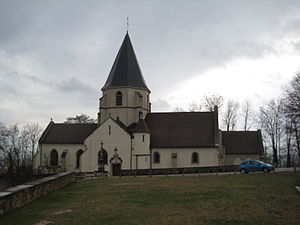 Fontaine-lès-Dijon - Image: Eglise Fontaine les Dijon 001
