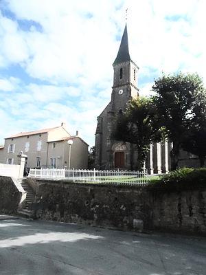 Cirières - The church of Sainte-Radegonde