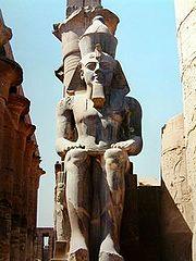 Ramsés II. Imperio Nuevo. Luxor