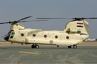 قوات التدخل السريع المصريه  330px-Egyptian_Air_Force_Boeing_CH-47D_Chinook_%28414%29_Pichugin
