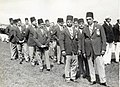 Egyptische atleten bij OS Amsterdam 1928 - Egyptian Olympic athletes, Amsterdam 1928 (6941436605).jpg