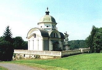 Ruprecht von Eggenberg - Mausoleum in Ehrenhausen, in the district of Leibnitz in Styria, Austria.