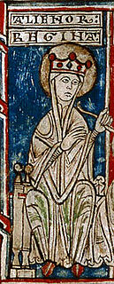 Eleanor of England, Queen of Castile 12th-century English princess and queen consort of Castile and Toledo