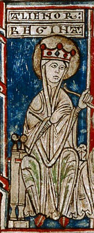 Eleanor of England, Queen of Castile - Image: Eleonora Angl