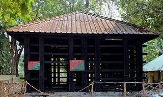 Kodanad town in Kerala, India