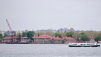 Ellis Island Immigrant Hospital - Ellis Island Immigrant Hospital