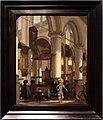 Emanuel de witte, interno dell'oude kerk, a delft, 1680 ca.jpg